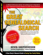 The Great Genealogical Search book